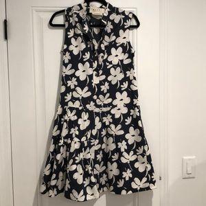 Navy & White Floral 💙 MARNI dress